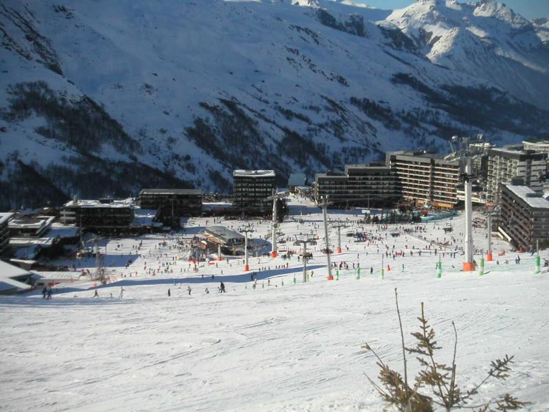 Vacaciones en montaña La Résidence Burons - Les Menuires - Invierno