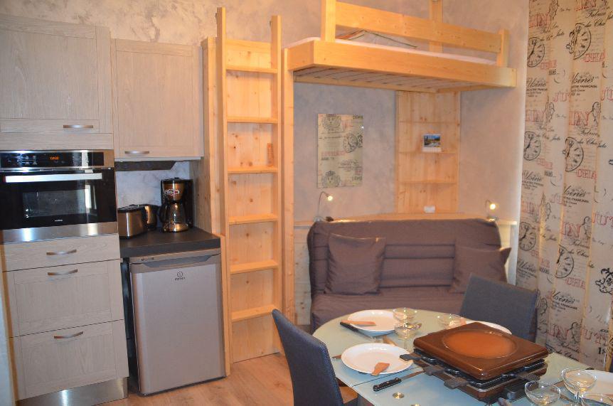 Wynajem na narty Apartament 2 pokojowy 4 osób (1320) - La Résidence Caron - Les Menuires