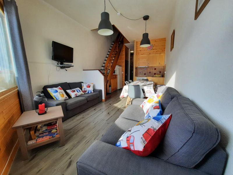 Location au ski Appartement duplex 4 pièces 8 personnes (1518) - La Résidence Caron - Les Menuires - Séjour