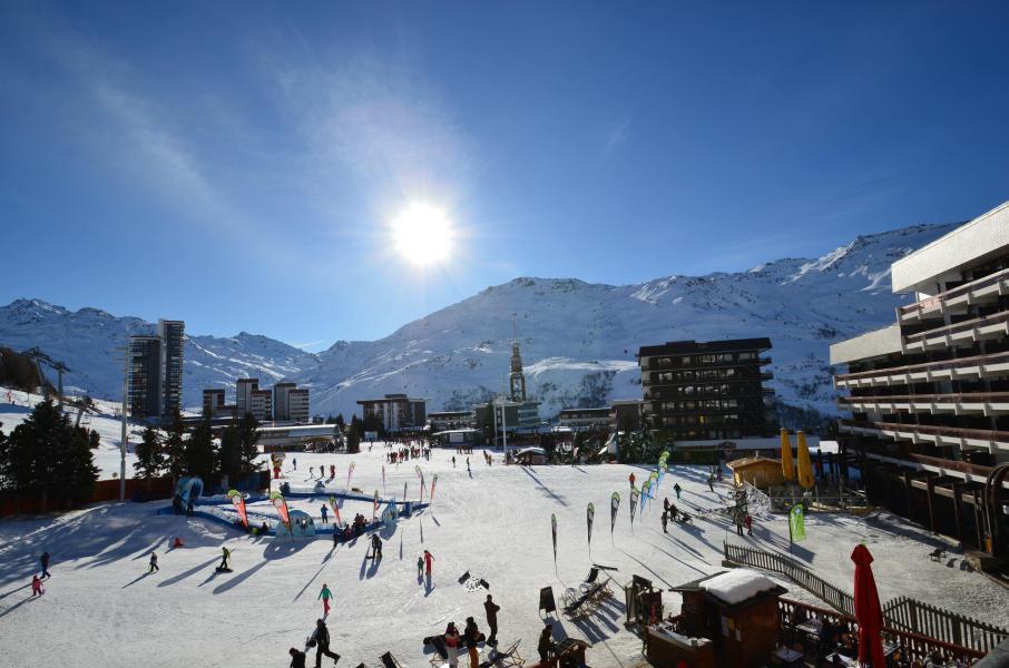 Vacances en montagne Appartement 2 pièces 4 personnes (223) - La Résidence Chavière - Les Menuires - Extérieur hiver