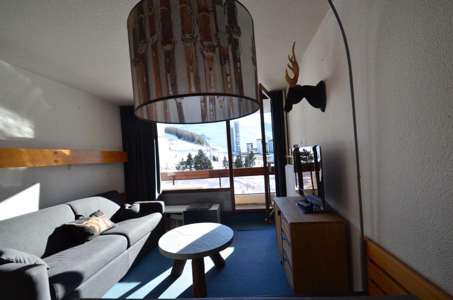 Location au ski Appartement 2 pièces 4 personnes (223) - La Résidence Chavière - Les Menuires - Banquette
