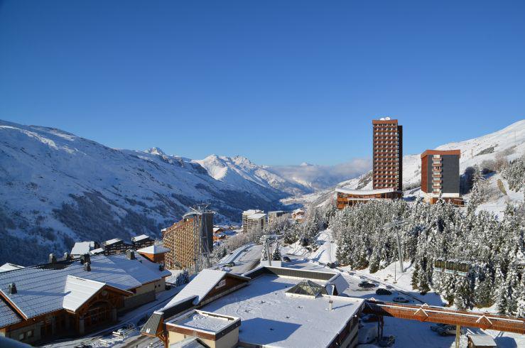 Location au ski Studio 2 personnes (431) - La Résidence Chavière - Les Menuires - Coin montagne