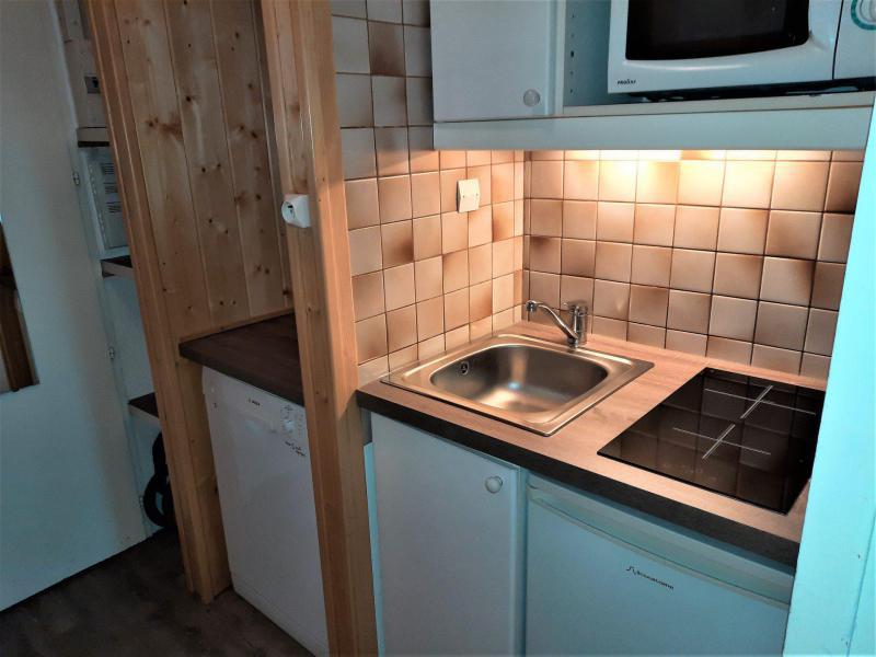 Location au ski Studio 2 personnes (729) - La Residence Chaviere - Les Menuires - Baignoire