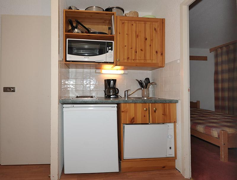 Wynajem na narty Apartament 2 pokojowy 4 osób (228) - La Résidence la Chavière - Les Menuires - Apartament