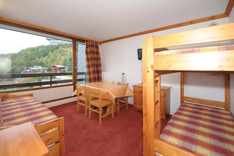 Wynajem na narty Apartament 2 pokojowy 4 osób (228) - La Résidence la Chavière - Les Menuires - Pokój gościnny