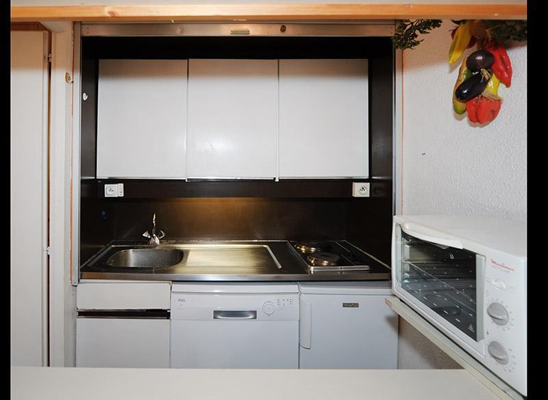 Wynajem na narty Apartament 2 pokojowy 5 osób (721) - La Résidence la Chavière - Les Menuires - Kuchnia