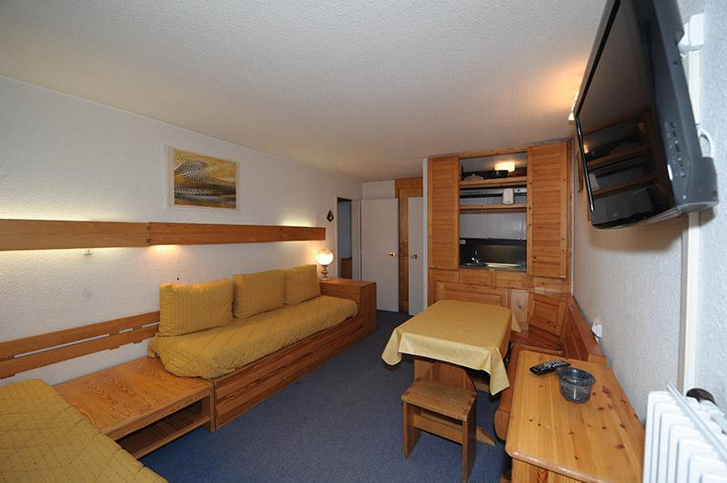 Wynajem na narty Apartament 2 pokojowy 5 osób (721) - La Résidence la Chavière - Les Menuires - Pokój gościnny