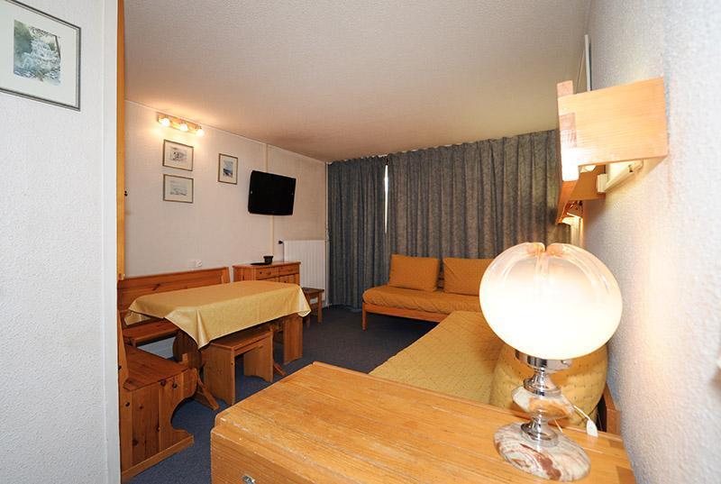 Wynajem na narty Apartament 2 pokojowy 5 osób (721) - La Résidence la Chavière - Les Menuires - Stołem