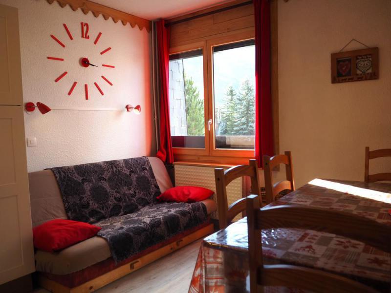 Wynajem na narty Apartament 2 pokojowy kabina 5 osób (020) - La Résidence la Chavière - Les Menuires - Pokój gościnny