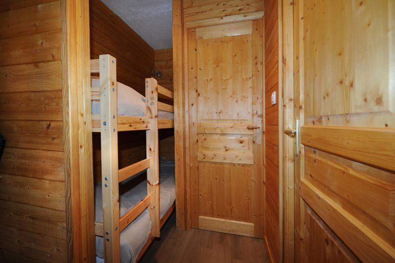 Wynajem na narty Studio z alkową 3 osoby (835) - La Résidence la Chavière - Les Menuires - Łóżkami piętrowymi