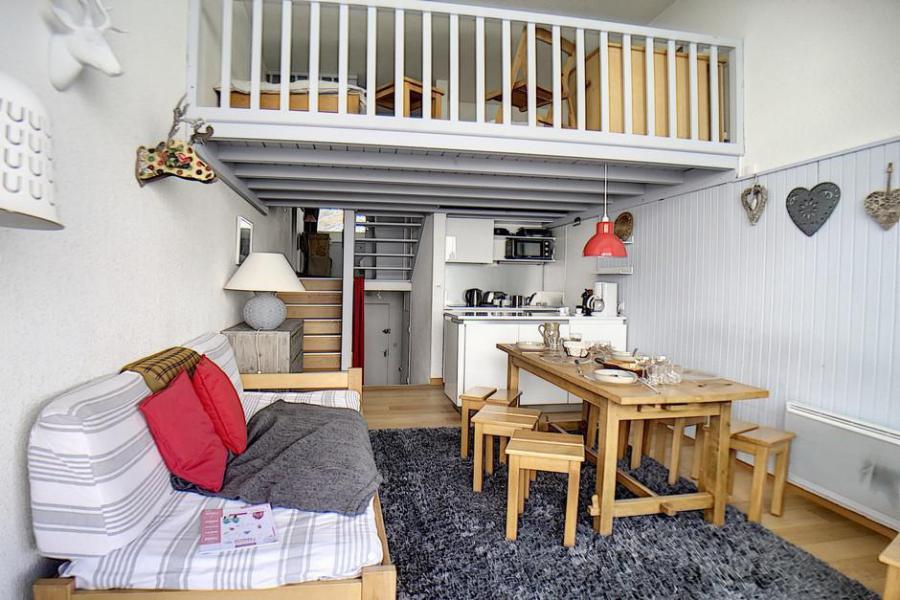 Location au ski Appartement 2 pièces mezzanine 6 personnes (1025) - La Résidence le Danchet - Les Menuires - Séjour