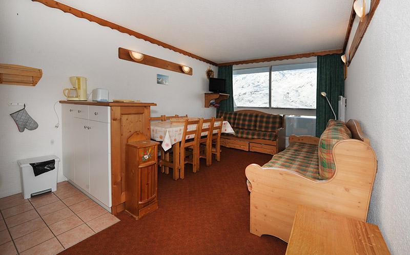 Location au ski Appartement duplex 2 pièces 5 personnes (925) - La Résidence le Danchet - Les Menuires - Séjour