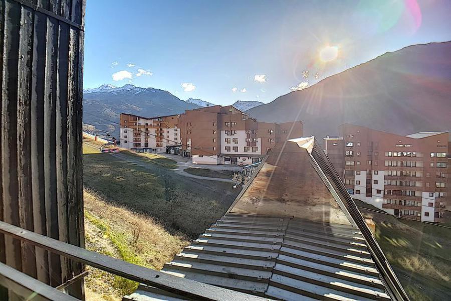 Soggiorno sugli sci La Résidence le Sorbier - Les Menuires - Esteriore inverno