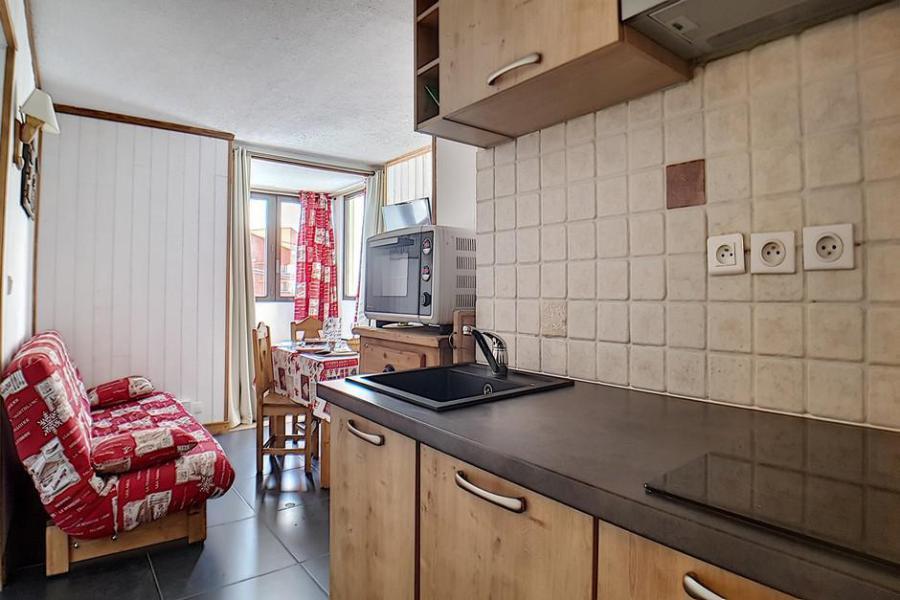 Аренда на лыжном курорте Квартира студия кабина для 4 чел. (203) - La Résidence le Sorbier - Les Menuires - Кухня