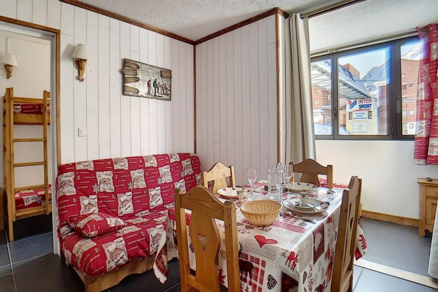 Аренда на лыжном курорте Квартира студия кабина для 4 чел. (203) - La Résidence le Sorbier - Les Menuires - Салон