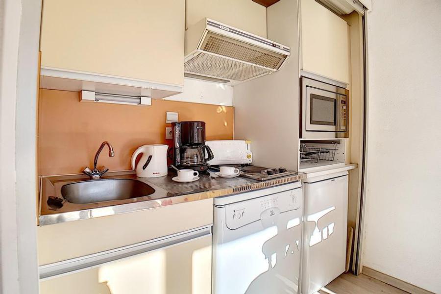 Аренда на лыжном курорте Квартира студия кабина для 4 чел. (224) - La Résidence le Sorbier - Les Menuires - Кухня