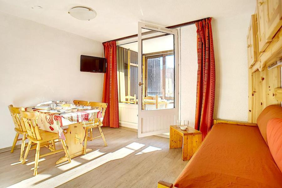 Аренда на лыжном курорте Квартира студия кабина для 4 чел. (224) - La Résidence le Sorbier - Les Menuires - Салон