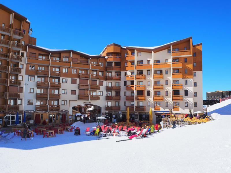 Soggiorno sugli sci La Résidence les Carlines - Les Menuires - Esteriore inverno