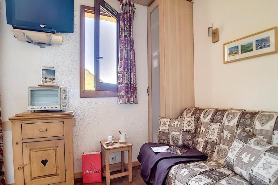 Location au ski Studio 3 personnes (028) - La Residence Les Carlines - Les Menuires