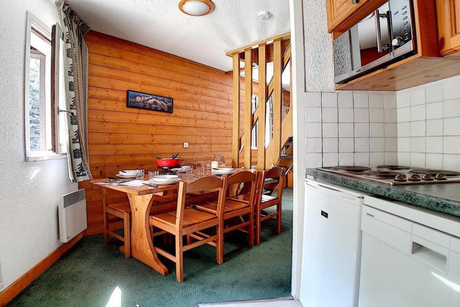 Wynajem na narty Apartament 2 pokojowy 6 osób (518) - La Résidence les Gentianes - Les Menuires