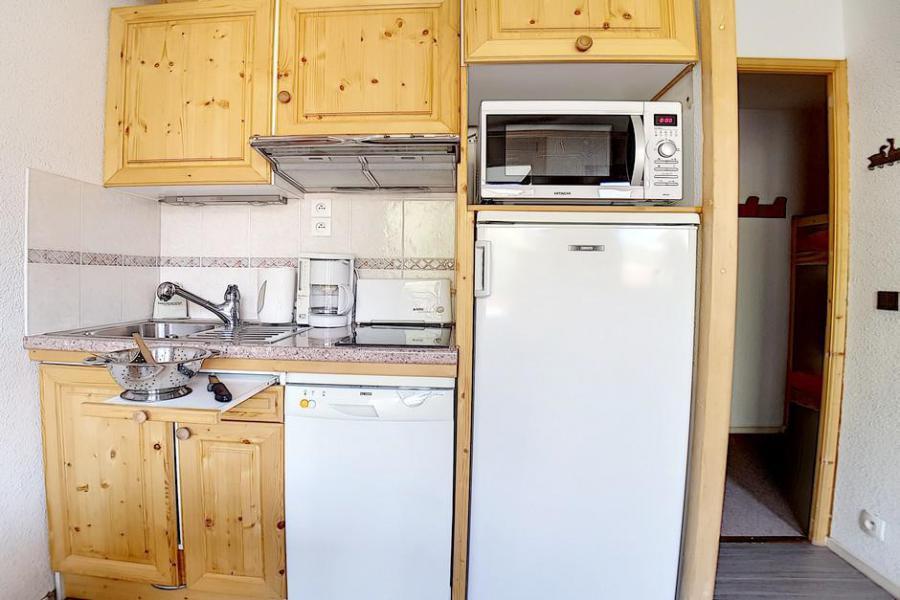 Location au ski Studio cabine 4 personnes (321) - La Résidence les Gentianes - Les Menuires - Salle de bains