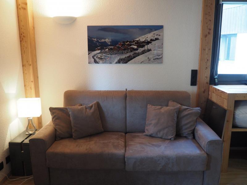 Location au ski Studio coin montagne 4 personnes (0412) - La Résidence les Gentianes - Les Menuires - Canapé-lit