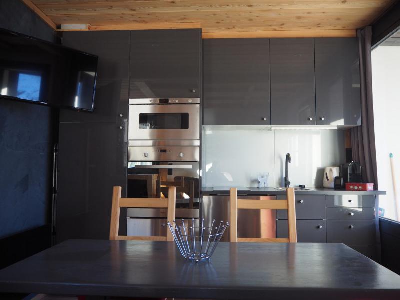 Location au ski Studio coin montagne 4 personnes (0412) - La Résidence les Gentianes - Les Menuires - Kitchenette