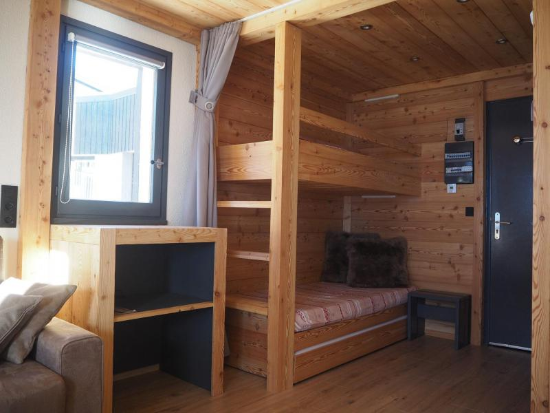 Location au ski Studio coin montagne 4 personnes (0412) - La Résidence les Gentianes - Les Menuires - Lits superposés