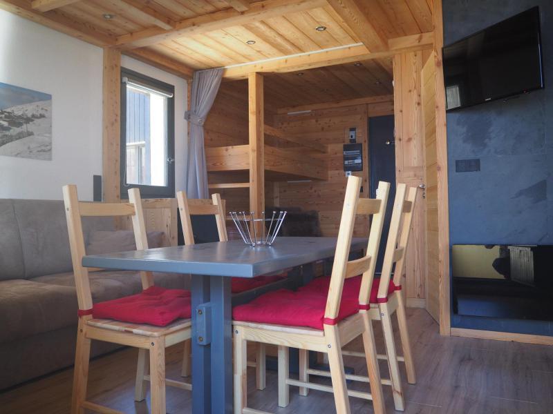 Location au ski Studio coin montagne 4 personnes (0412) - La Résidence les Gentianes - Les Menuires - Séjour