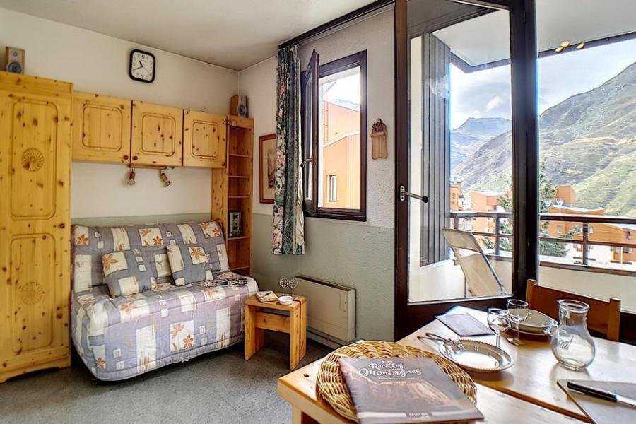 Location au ski Studio coin montagne 4 personnes (421) - La Résidence les Gentianes - Les Menuires - Coin repas
