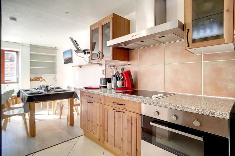 Wynajem na narty Apartament 2 pokojowy 5 osób (A3) - La Résidence les Lauzes - Les Menuires - Aneks kuchenny