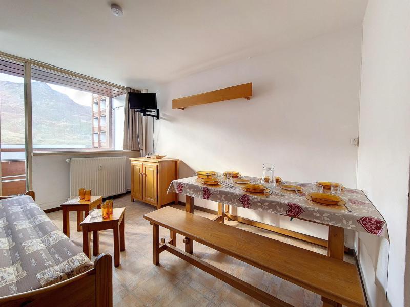 Wynajem na narty Apartament duplex 2 pokojowy 6 osób (C8) - La Résidence les Lauzes - Les Menuires - Aneks kuchenny