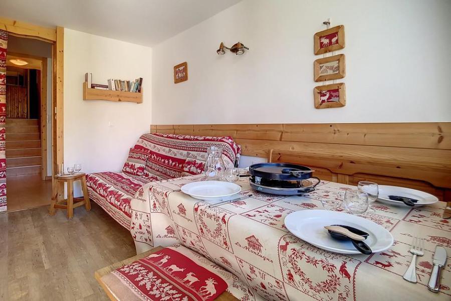 Location au ski Appartement duplex 2 pièces 5 personnes (E18) - La Residence Les Lauzes - Les Menuires - Chambre
