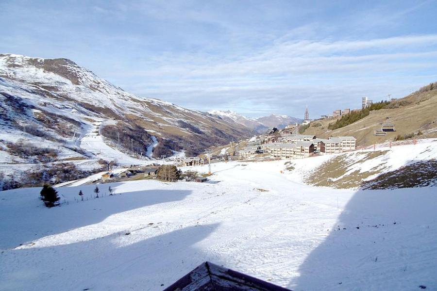 Urlaub in den Bergen 3-Zimmer-Appartment für 6 Personen (2104) - La Résidence Ski Soleil - Les Menuires - Draußen im Winter
