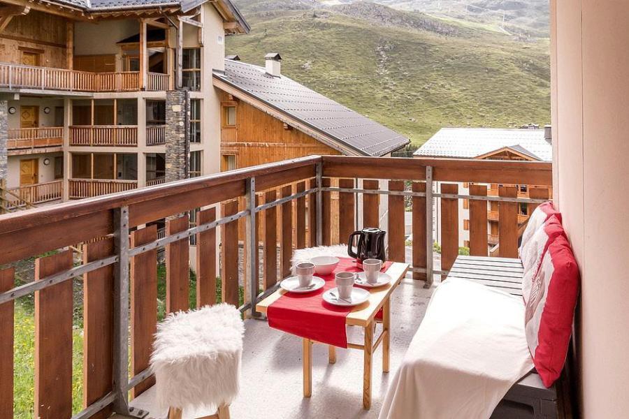 Soggiorno sugli sci Appartamento 2 stanze con alcova per 4 persone (2102) - La Résidence Ski Soleil - Les Menuires - Balcone