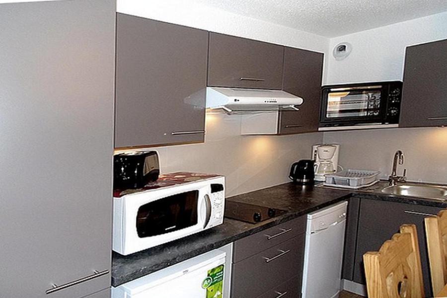 Soggiorno sugli sci Appartamento 2 stanze con alcova per 4 persone (2102) - La Résidence Ski Soleil - Les Menuires - Cucinino