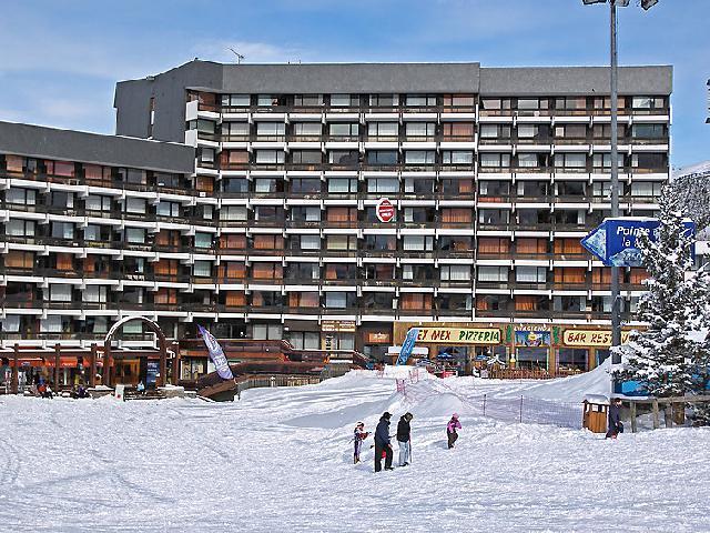 Vakantie in de bergen Appartement 1 kamers 4 personen (10) - Lac du Lou - Chavière - Péclet - Les Menuires - Buiten winter