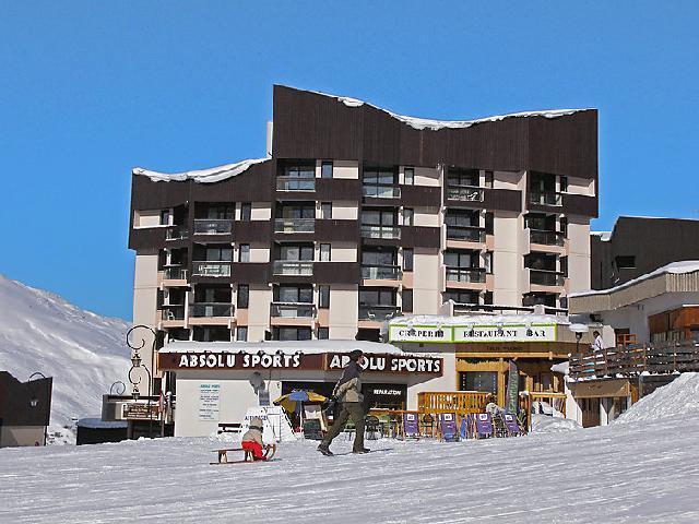 Vakantie in de bergen Appartement 1 kamers 3 personen (1) - Le Génépi - Les Menuires - Buiten winter