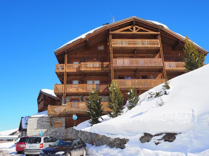 Skiverleih Le Hameau de la Sapinière - Chalet Cembro - Les Menuires - Draußen im Winter