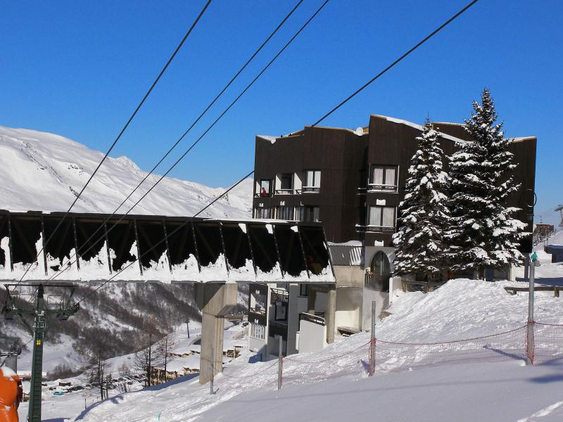 Holiday in mountain resort 2 room apartment 4 people (2) - Le Sorbier - Les Menuires - Winter outside