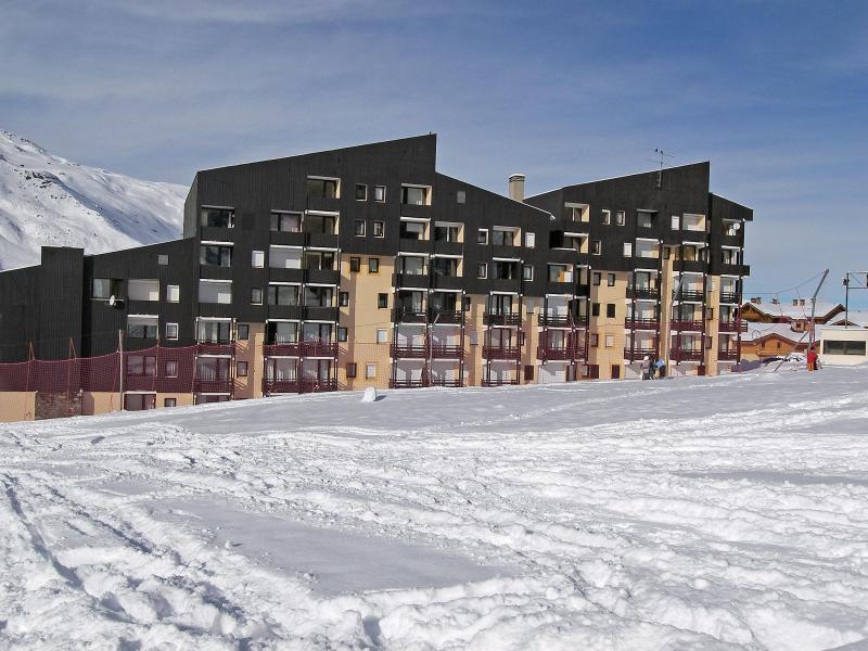 Holiday in mountain resort 2 room apartment 6 people (2) - Le Villaret - Les Menuires - Winter outside