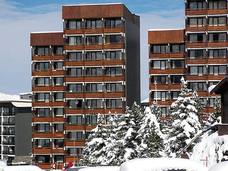 Holiday in mountain resort 2 room apartment 5 people (1) - Les Burons - Les Menuires - Winter outside