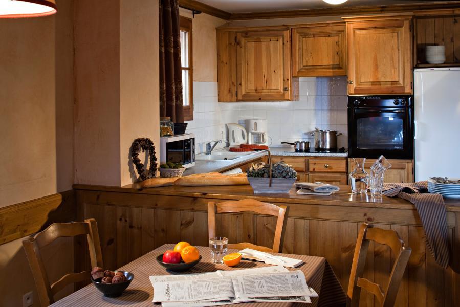 Аренда на лыжном курорте Les Chalets du Soleil - Les Menuires - Кухня
