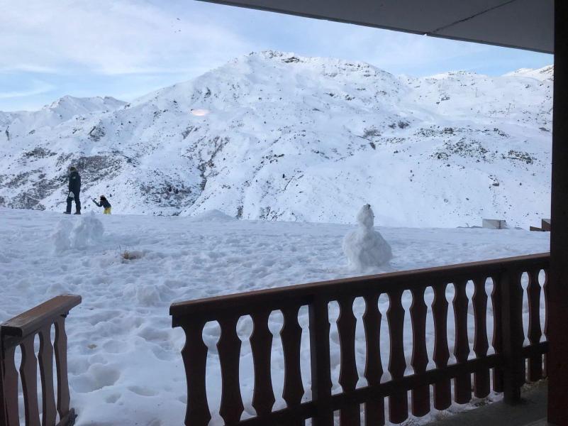 Vacances en montagne Appartement 2 pièces cabine 2-4 personnes (002) - Les Côtes d'Or Chalet Argentière - Les Menuires - Extérieur hiver