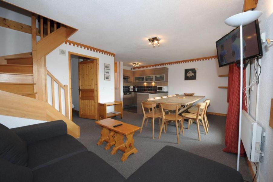 Location au ski Appartement 4 pièces cabine 10-12 personnes (402) - Les Côtes d'Or Chalet Bossons - Les Menuires - Séjour