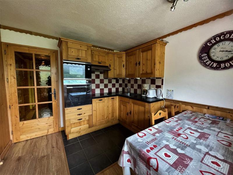 Location au ski Appartement 2 pièces cabine 4 personnes (322) - Les Côtes d'Or Chalet Courmayeur - Les Menuires - Cuisine