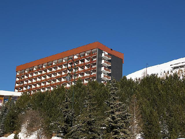 Holiday in mountain resort 2 room apartment 5 people (4) - Les Lauzes - Les Menuires - Winter outside