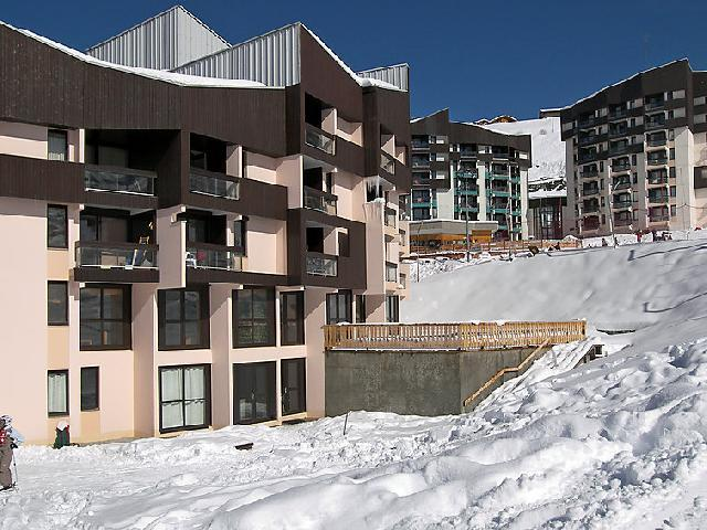 Holiday in mountain resort 2 room apartment 4 people (1) - Les Soldanelles - Les Menuires - Winter outside