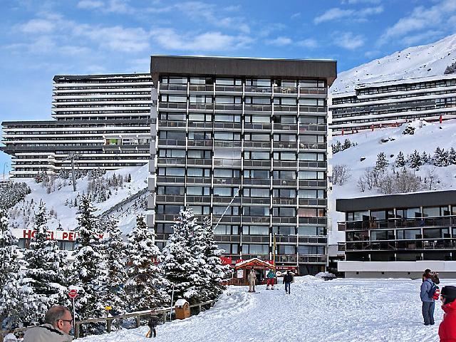 Holiday in mountain resort 3 room apartment 7 people (1) - Pelvoux - Les Menuires - Winter outside