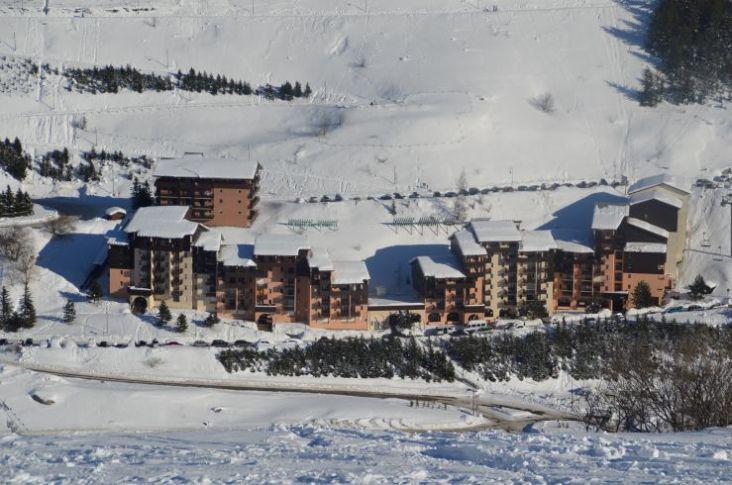 Location au ski Résidence Argousier - Les Menuires - Extérieur hiver